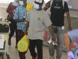 See photos from the scene of Ghanaian returnees from Kuwait