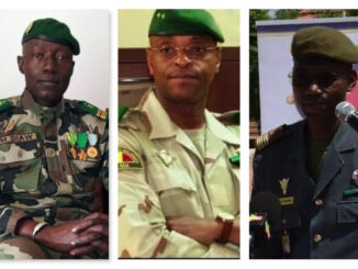 Meet The Malian Military Coup Leaders Who Overthrows Their President Goes Viral -PHOTOS