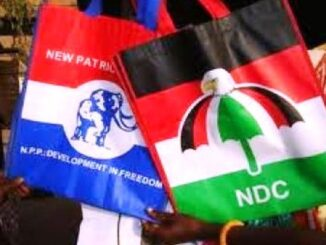 JUST IN: NPP and NDC Position on Ballot Paper Sparks Controversy; As NPP Picks Number , While NDC Number 2