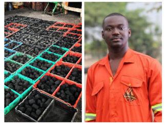 "Sulley Amin Abubakar, now the owner of the ""biggest charcoal producing company in Ghana"""