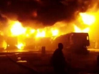 BREAKING: Islamic Girls SHS On Fire -[PHOTOS]