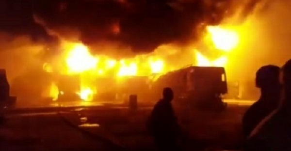 BREAKING: Islamic Girls SHS On Fire -[PHOTOS]