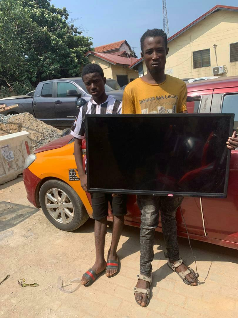 Caught in the act; Three notorious armed robbers arrested