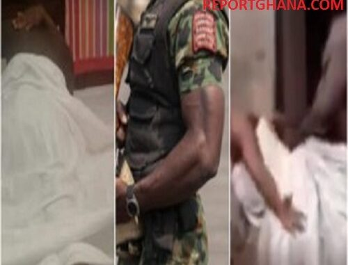 Video of Cheating Man Gets Stuck On Soldier's Wife During S3X Goes Viral -WATCH VIDEO