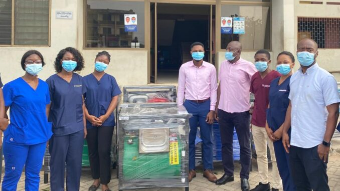 Ibrahim Mahama Donates Never Seen Before Ultra Modern Hand Washing Machines To Universities and Other Institutions -SEE PHOTOS