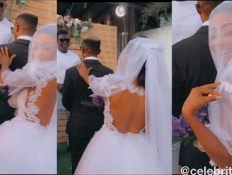 Meet Akuapem Poloo's Husband As She Finally Shows His Face -WATCH VIDEO/PHOTOS