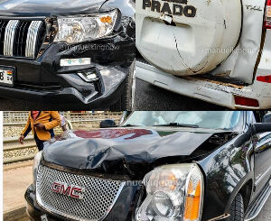BREAKING NEWS: Presidential Candidate Convoy Involved In An Accident -SEE PHOTOS