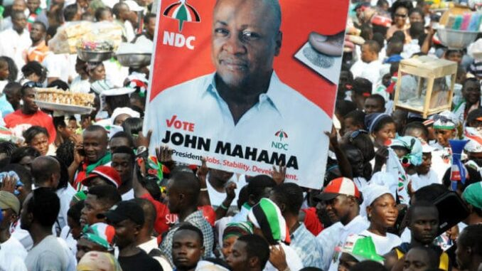 More PHOTOS Of How John Mahama Pulled Crowd In Ashanti Region Sparks Conversation -[SEE PHOTOS]