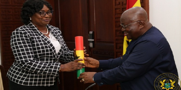 AKufo Addo Appoints A Woman As New Special Prosecutor