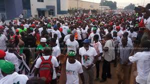 NDC Supporters Besiege Buck Press over Suspicions of Excess Ballot Papers