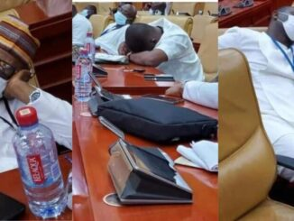 JUST IN: PHOTOS Of NPP MPs Go VIRAL After Being Captured Sleeping In Parliament For Reporting 4 am Today -[SEE PHOTOS]