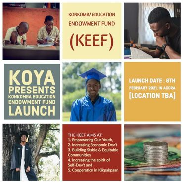 Konkombas In Ghana Launches Educational Endowment Fund to Support Their Needy Students