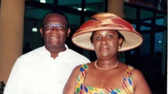 BREAKING News: Wife of late Ayawaso West Wuogon MP Agyarko dies from Coronavirus